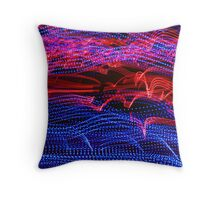 Light race Throw Pillow