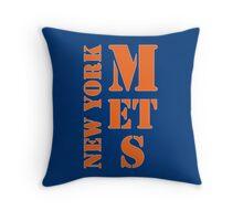 New York Mets Typo Throw Pillow