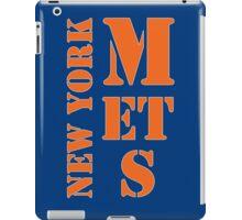New York Mets Typo iPad Case/Skin
