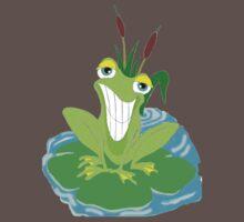 Cute Smiling Frog Baby Tee