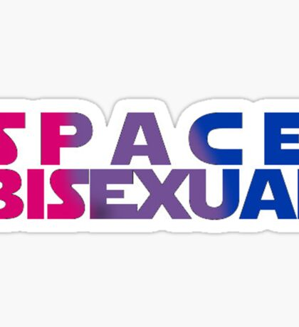 Space Bisexual Sticker