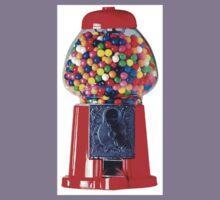 Retro Gum ball machine red Kids Tee
