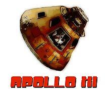 Apollo XI Capsule Photographic Print