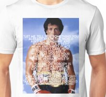 Rocky Balboa Quote  Unisex T-Shirt