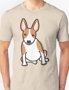English Bull Terrier Puppy Dog ... brown & white Unisex T-Shirt