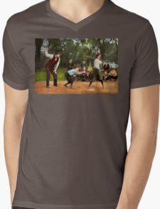 Sport - Baseball - Strike one 1921 Mens V-Neck T-Shirt