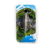 Footbridge over Glen River, Carrick, SW Donegal Samsung Galaxy Case/Skin