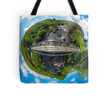 Footbridge over Glen River, Carrick, SW Donegal Tote Bag