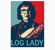 Log Lady - Twin Peaks Women's Fitted Scoop T-Shirt