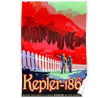 Visions of the future- Kepler-186f Poster
