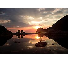 Incredible Sunset - Travel Photography  Photographic Print