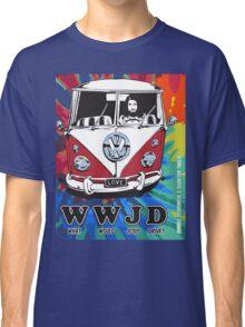 WWJD  ? tie dye Classic T-Shirt