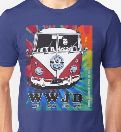 WWJD  ? tie dye Unisex T-Shirt