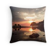 Incredible Sunset - Travel Photography  Throw Pillow