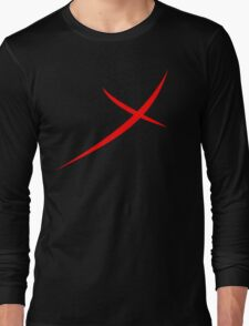 Red X Long Sleeve T-Shirt