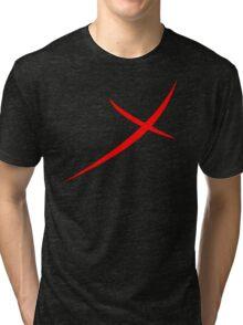 Red X Tri-blend T-Shirt
