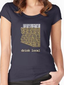 Drink Local - Arizona Beer Shirt Women's Fitted Scoop T-Shirt