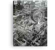 Teslas Free Energy  Canvas Print