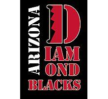 Arizona Diamondbacks typo logo Photographic Print