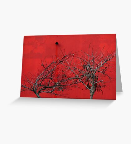 Trees are Hot Greeting Card