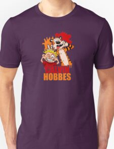 watercolour poster Calvin And Hobbes T-Shirt