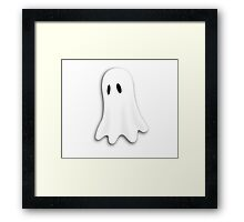 Spooky Dress - Halloween Ghost T-Shirt Duvet Sticker Framed Print