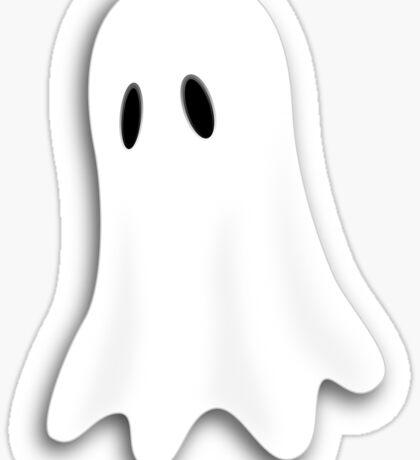 Spooky Dress - Halloween Ghost T-Shirt Duvet Sticker Sticker