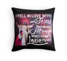 Love Child Part Jesus Throw Pillow