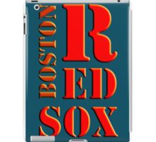 Boston Red Sox 1 iPad Case/Skin