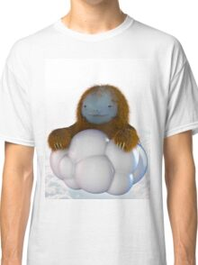 sloth guy in a cloud Classic T-Shirt