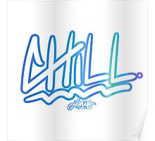"""Chill"" by Horus Poster"