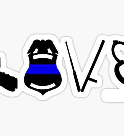 Love LEO Sticker