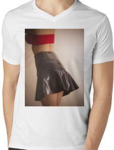 That's A Holga Short Skirt Mens V-Neck T-Shirt