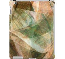 Swept Layers Abstract Digital Art iPad Case/Skin
