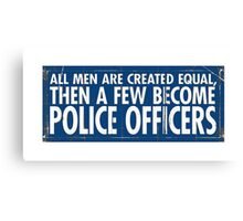 Few Men Canvas Print