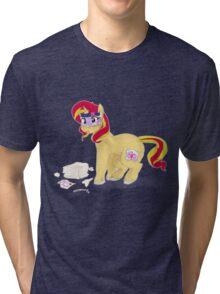 number one princess - sunset shimmer! Tri-blend T-Shirt
