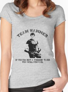 TEAM HAMMER Women's Fitted Scoop T-Shirt