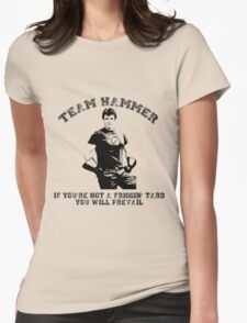 TEAM HAMMER Womens Fitted T-Shirt