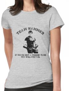 TEAM HAMMER Womens Fitted T-Shirt