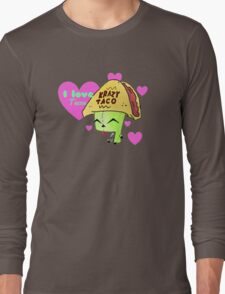 Gir Loves Tacos Long Sleeve T-Shirt