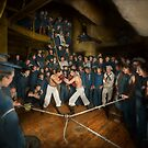 Sports - Boxing - The Second round 1896 by Mike  Savad