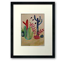 Cacti 1 Framed Print