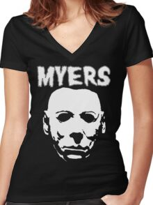 Michaels just another misfit Women's Fitted V-Neck T-Shirt