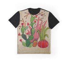 Cacti 4 Graphic T-Shirt