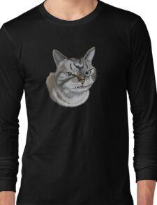 Alien kitten Long Sleeve T-Shirt