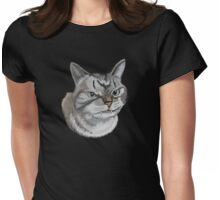 Alien kitten Womens Fitted T-Shirt