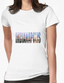 Indianapolis Womens Fitted T-Shirt