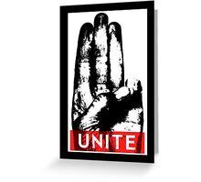 Unite Greeting Card