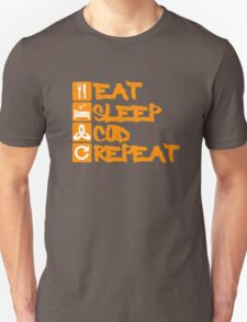 Black ops 3 Eat Sleep Cod Repeat T-Shirt