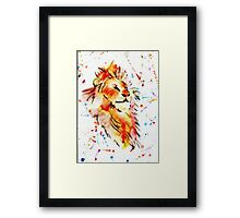 Spirit Lion Framed Print